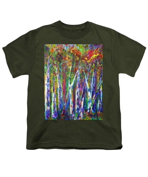 Autumn In Muskoka Youth T-Shirt