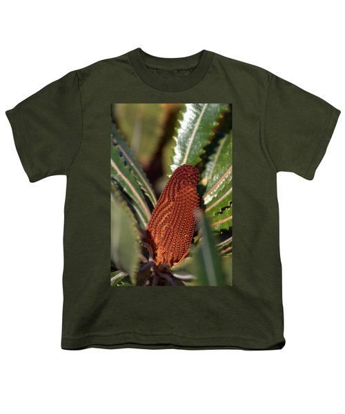 Youth T-Shirt featuring the photograph Banksia by Miroslava Jurcik