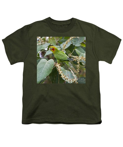 Chiriqui Conure 2 Youth T-Shirt by Heiko Koehrer-Wagner