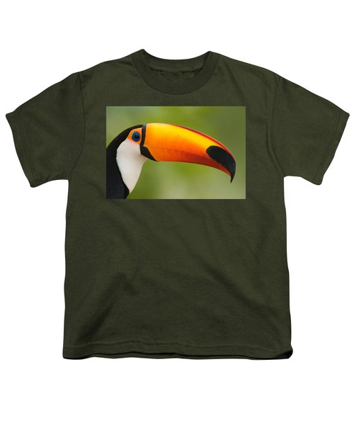 Close-up Of A Toco Toucan Ramphastos Youth T-Shirt