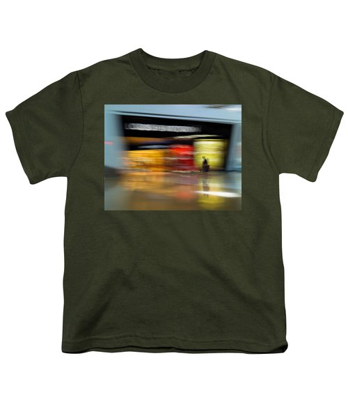 Youth T-Shirt featuring the photograph Closing In by Alex Lapidus