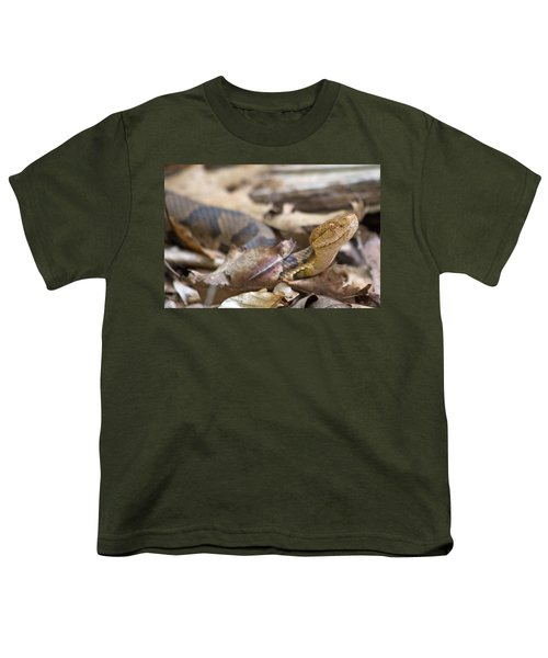 Copperhead In The Wild Youth T-Shirt by Betsy Knapp