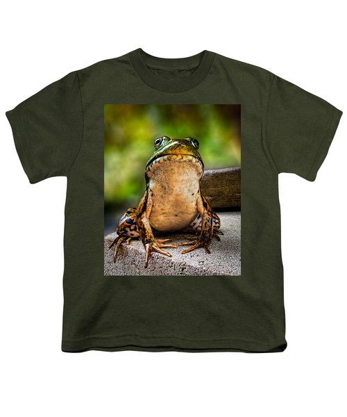 Frog Prince Or So He Thinks Youth T-Shirt