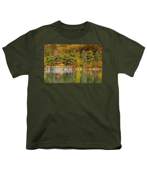 Youth T-Shirt featuring the photograph Garden Of Reflection by Sebastian Musial