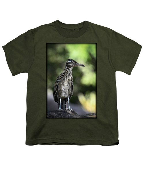 Greater Roadrunner  Youth T-Shirt by Saija  Lehtonen
