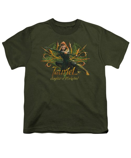 Hobbit - Tauriel Youth T-Shirt by Brand A