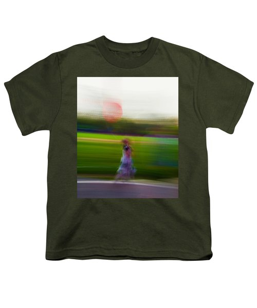 Youth T-Shirt featuring the photograph Lighter Than Air by Alex Lapidus
