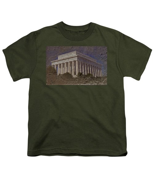 Lincoln Memorial Youth T-Shirt by Skip Willits