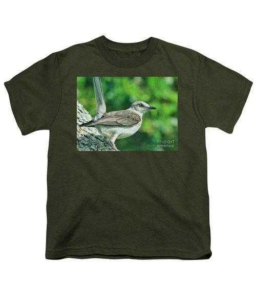 Mockingbird Pose Youth T-Shirt