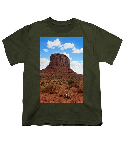 Monument Valley Monolith West Mitten Butte Youth T-Shirt