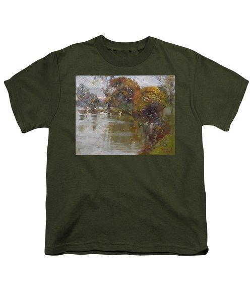 November 4th At Hyde Park Youth T-Shirt by Ylli Haruni