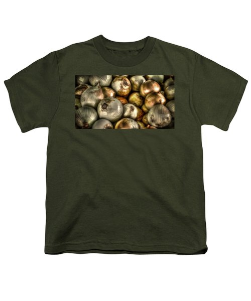 Onions Youth T-Shirt by David Morefield