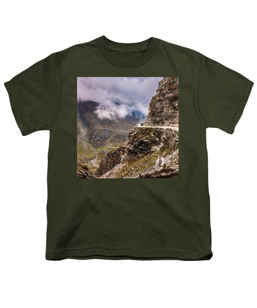 Our Bus Journey Through The Himalayas Youth T-Shirt