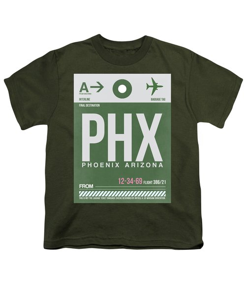 Phoenix Airport Poster 2 Youth T-Shirt