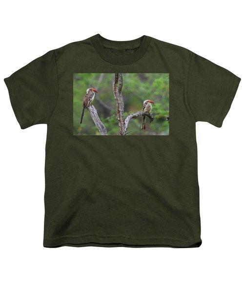 Red-billed Hornbills Youth T-Shirt