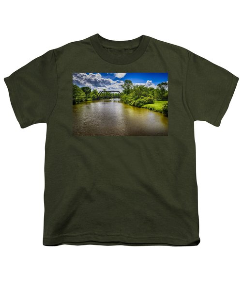 Youth T-Shirt featuring the photograph Royal River by Mark Myhaver