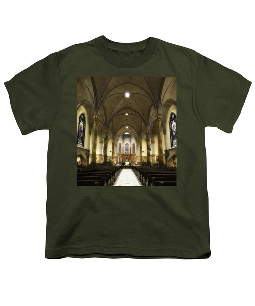 St Mary's Catholic Church Youth T-Shirt by Lynn Geoffroy