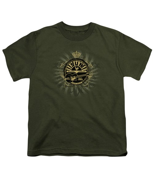 Sun - Rock Heraldry Youth T-Shirt by Brand A