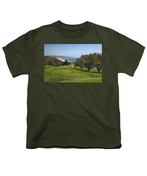 Torrey Pines Golf Course North 6th Hole Youth T-Shirt