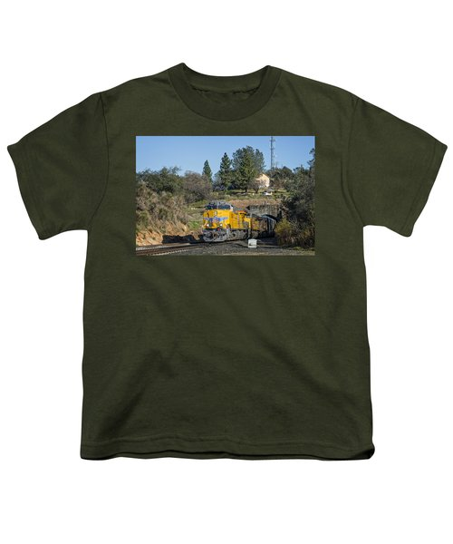 Youth T-Shirt featuring the photograph Up 8267 by Jim Thompson