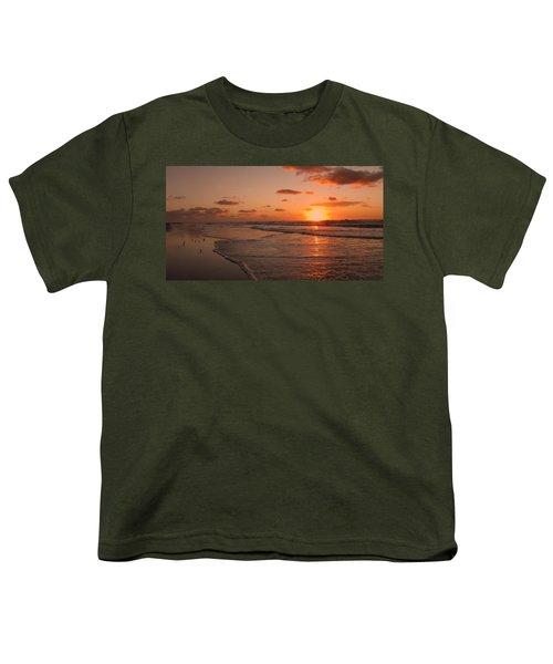 Wildwood Beach Sunrise II Youth T-Shirt