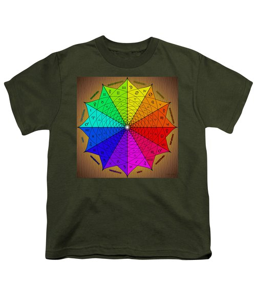 Zodiac Color Star Youth T-Shirt