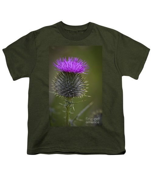 Blooming Thistle Youth T-Shirt