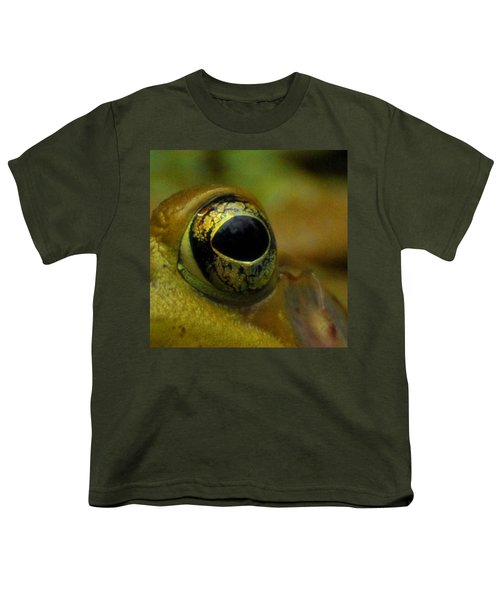 Eye Of Frog Youth T-Shirt by Paul Ward