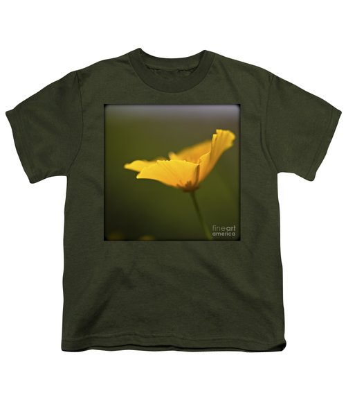 Youth T-Shirt featuring the photograph Golden Afternoon. by Clare Bambers