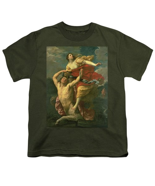 The Abduction Of Deianeira Youth T-Shirt by  Centaur Nessus