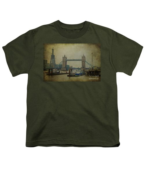Youth T-Shirt featuring the photograph Tower Bridge. by Clare Bambers