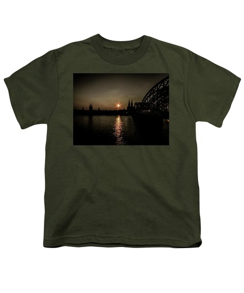 Cathedral In Cologne - Germany Youth T-Shirt