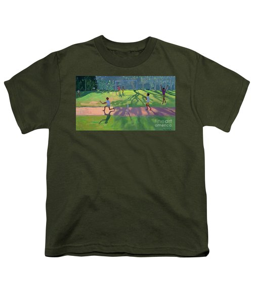 Cricket Sri Lanka Youth T-Shirt by Andrew Macara