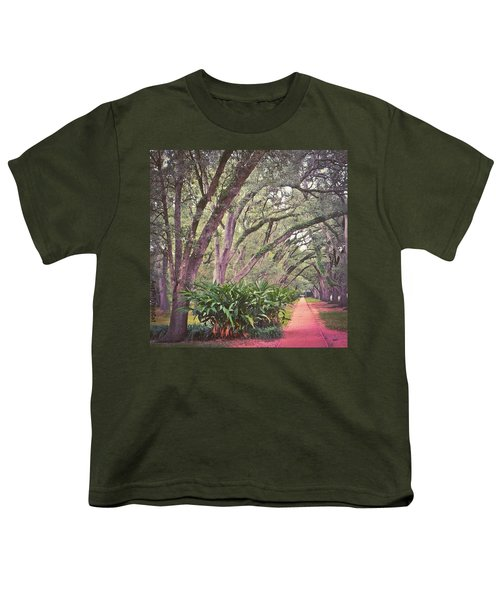 Love The #liveoak #trees And This Youth T-Shirt