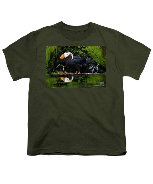 Puffin Reflected Youth T-Shirt