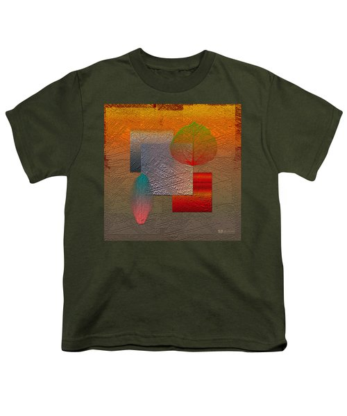 Quiet Sunset At The End Of Northern Summer  Youth T-Shirt by Serge Averbukh