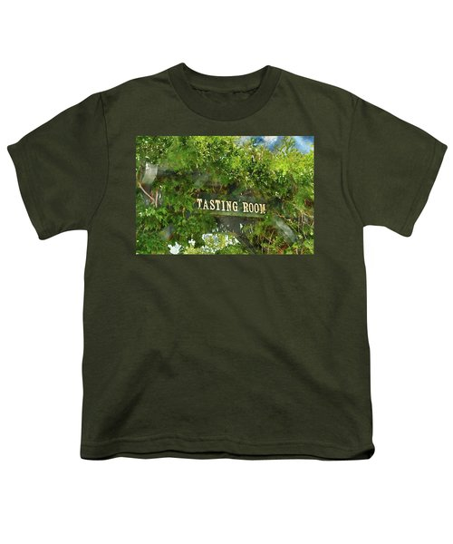 Tasting Room Sign Youth T-Shirt