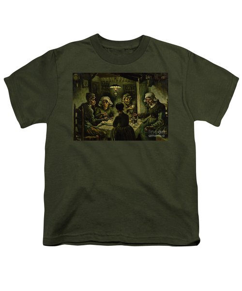 The Potato Eaters, 1885 Youth T-Shirt by Vincent Van Gogh