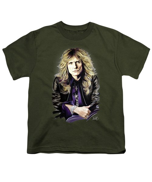 David Coverdale 1 Youth T-Shirt