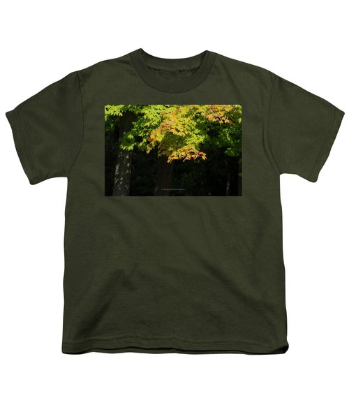 October Colors Youth T-Shirt