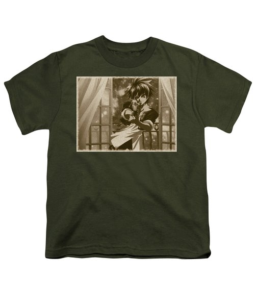 Black Cat Youth T-Shirt