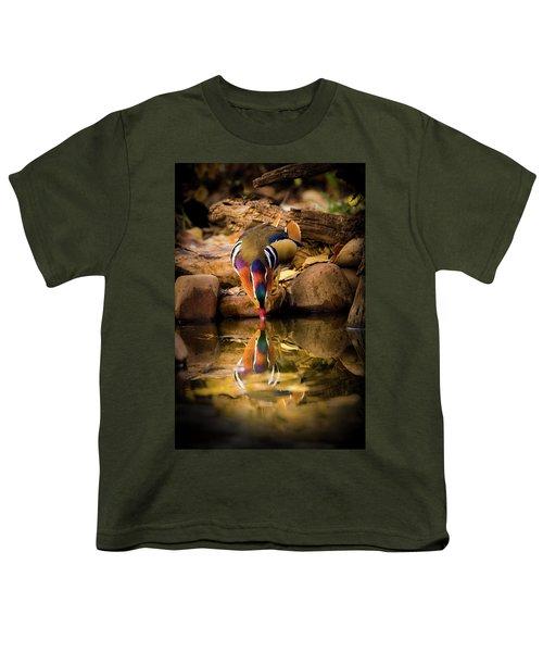 A Cold Drink - Mandarin Drake Youth T-Shirt