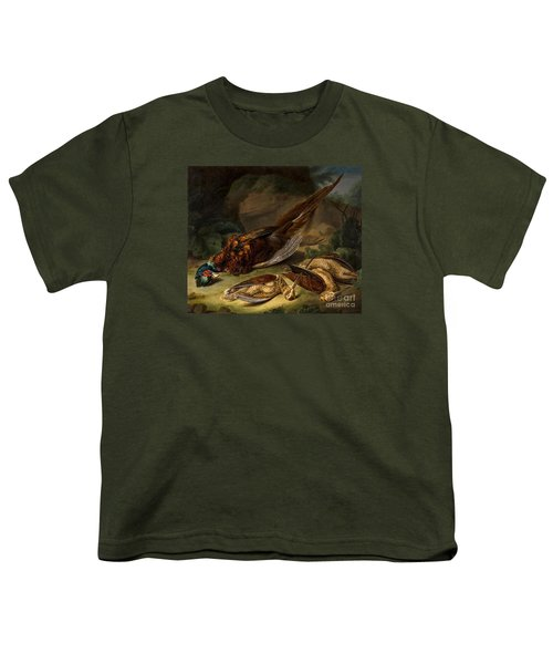 A Dead Pheasant Youth T-Shirt by MotionAge Designs