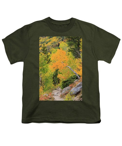 Youth T-Shirt featuring the photograph Yellow Drop by David Chandler