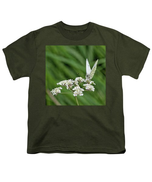 A Green-veined White (pieris Napi) Youth T-Shirt