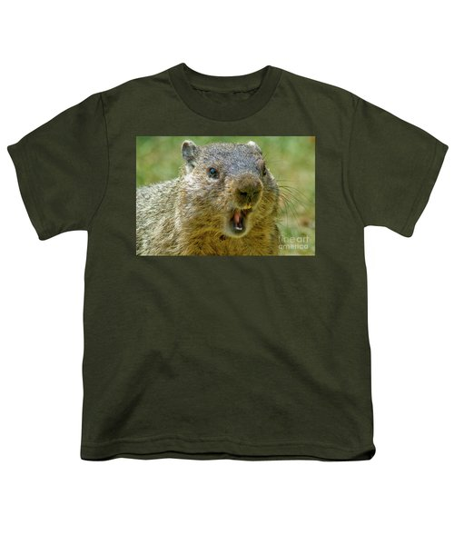 A Hungry Fellow  Youth T-Shirt by Paul W Faust - Impressions of Light