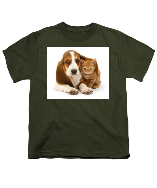 A New Meaning To Cat Flap Youth T-Shirt