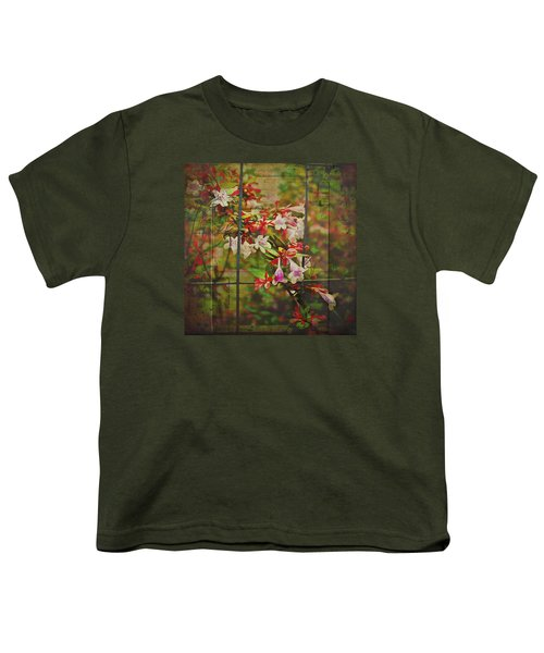 Abelia Coming Through Youth T-Shirt by Bellesouth Studio