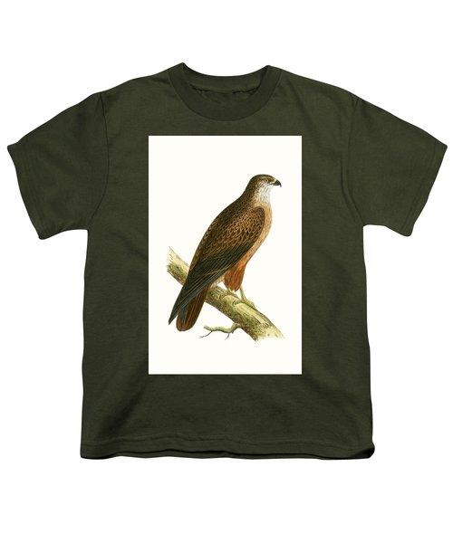 African Buzzard Youth T-Shirt by English School