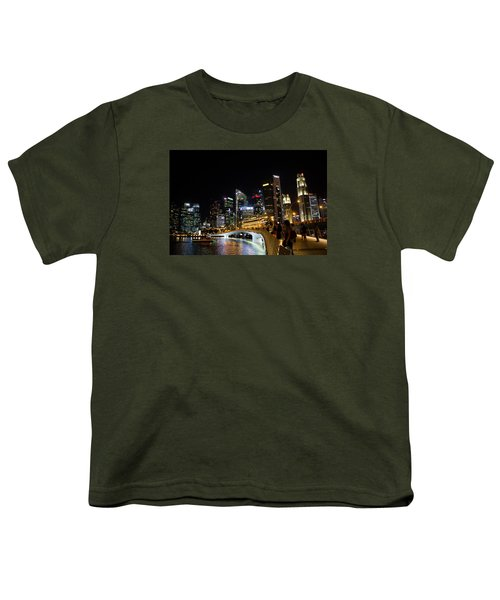 An Evening Stroll In Singapore Youth T-Shirt